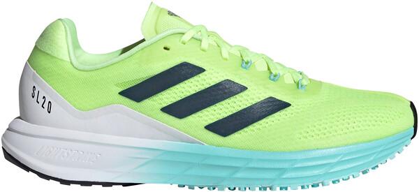 ADIDAS SL20.0 Women's Running Shoes Yellow/Blue 2021